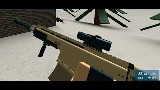 Roblox Phantom Forces - Scar-L and UMP45 Combo