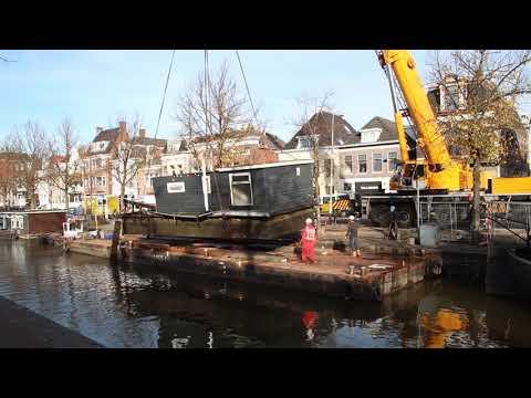 Boot uit water getakeld