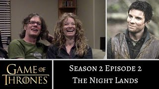 Game of Thrones S02E02 The Night Lands REACTION