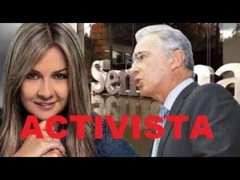 Vicky Dávila, activista del Uribismo