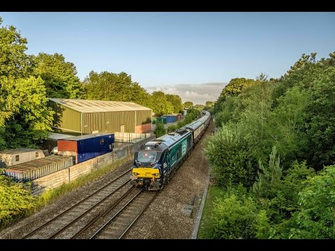 (HD) 68004 powers under Ram Hill, Bristol 18/7/15