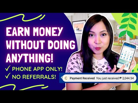 How To Earn Money Without Doing Anything! Bitcoin For Beginners!