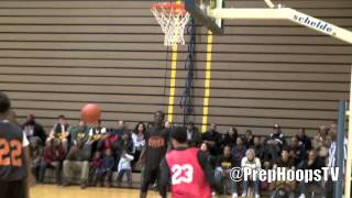 Trevor Manuel 2015 Lansing Sexton with a dunk at the Super Scrimmage