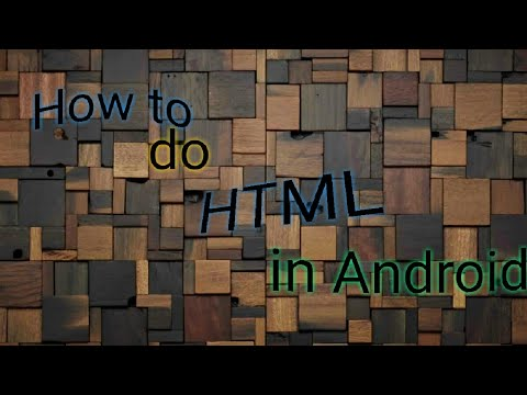 How To Download HTML In Android Device