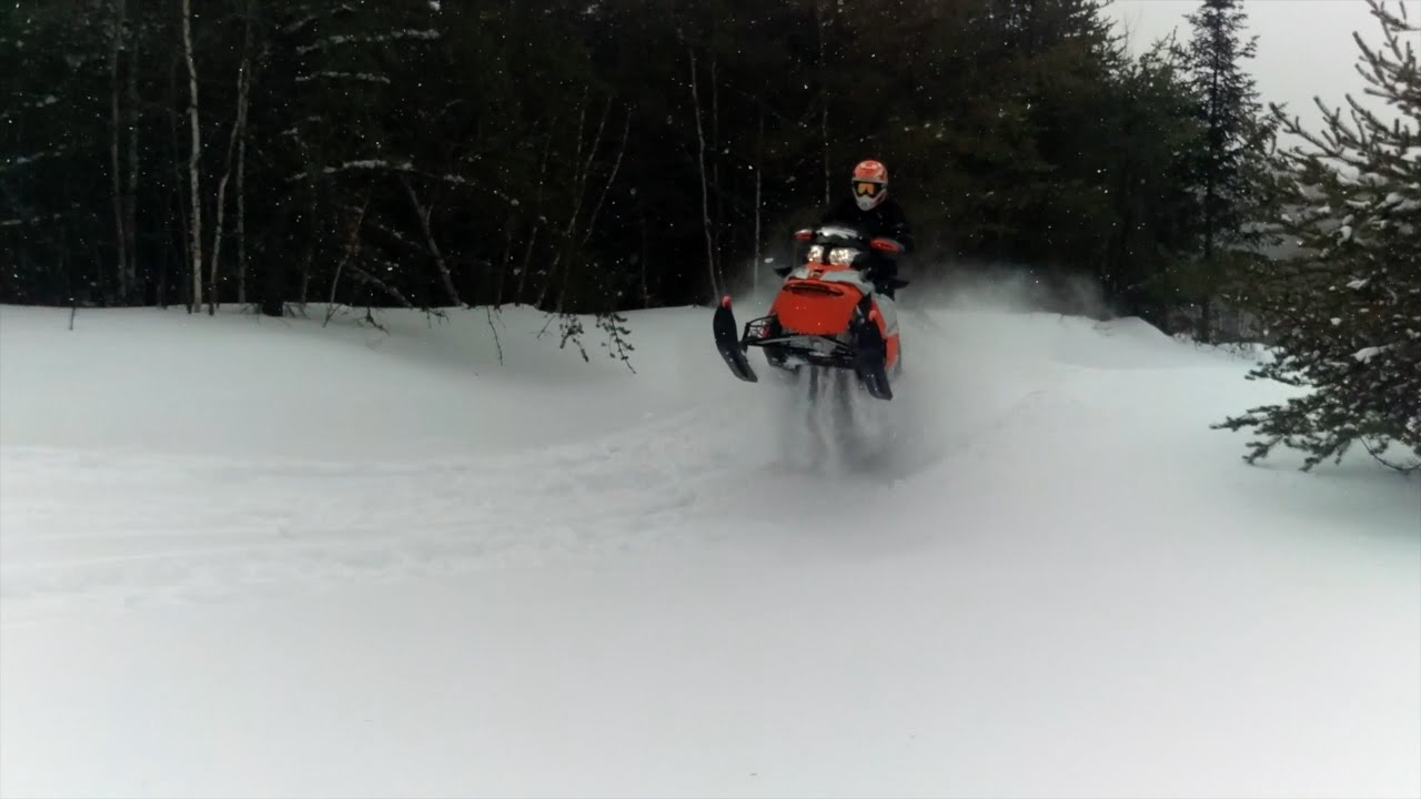 C Max 2019 >> Ski-Doo Renegade Backcountry & Expedition Extreme ride in deep snow - YouTube