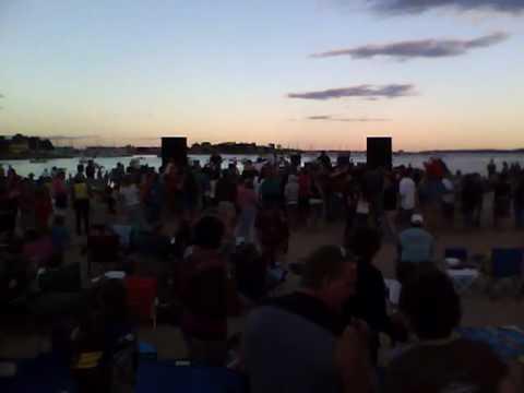 Wicked Peach @ Esker Point beach 7/1/10