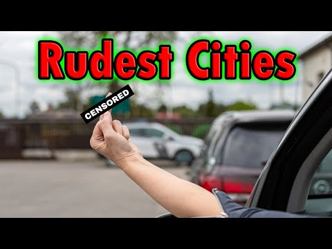 Top 10 Rude Cities in the United States!!! (Last 2 are not a surprise)
