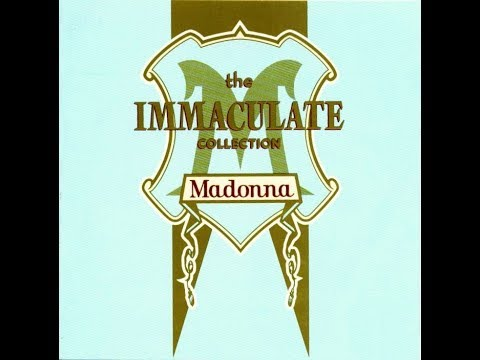 Madonna - Advert - Commercial - The Immaculate Collection Album - 1990