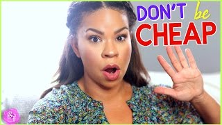DON'T BE CHEAP... 5 THINGS I NEVER CHEAP OUT ON | FRUGAL GIRL REAL TALK | Sensational Finds