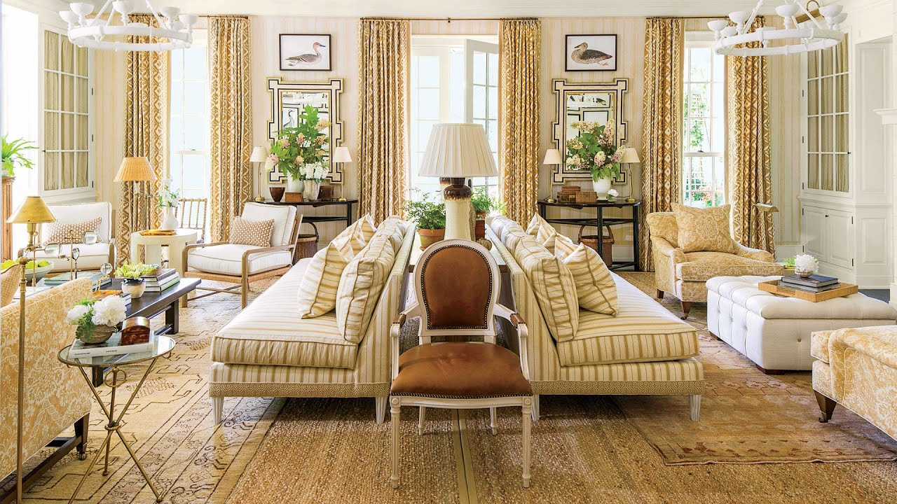 Charming 2016 Idea House: The Living Room | Southern Living   YouTube
