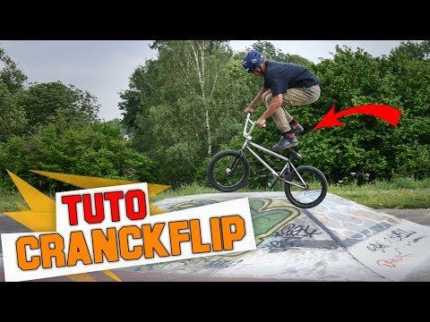 COMMENT FAIRE UN CRANKFLIP EN BMX ? - TUTO EXPRESS DEBUTANT - HOW TO CRANKFLIP ON BMX ?
