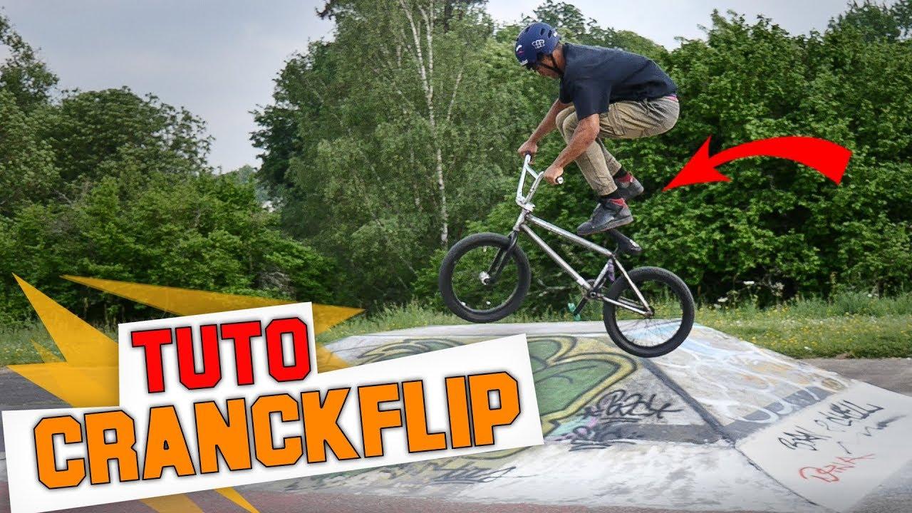 Video COMMENT FAIRE UN CRANKFLIP EN BMX ? - TUTO EXPRESS DEBUTANT - HOW TO CRANKFLIP ON BMX ?