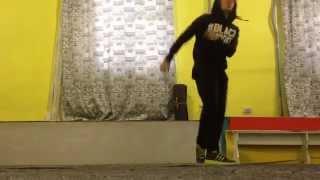 House Dance before training- Andrew