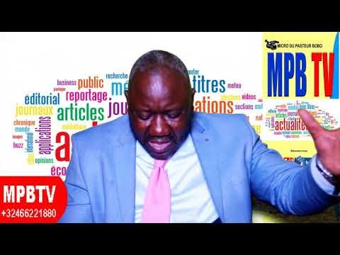 MPBTV Actualité Compliquée 23-04-Fake News sur la mort de Gizenga - Kabila doit partir..