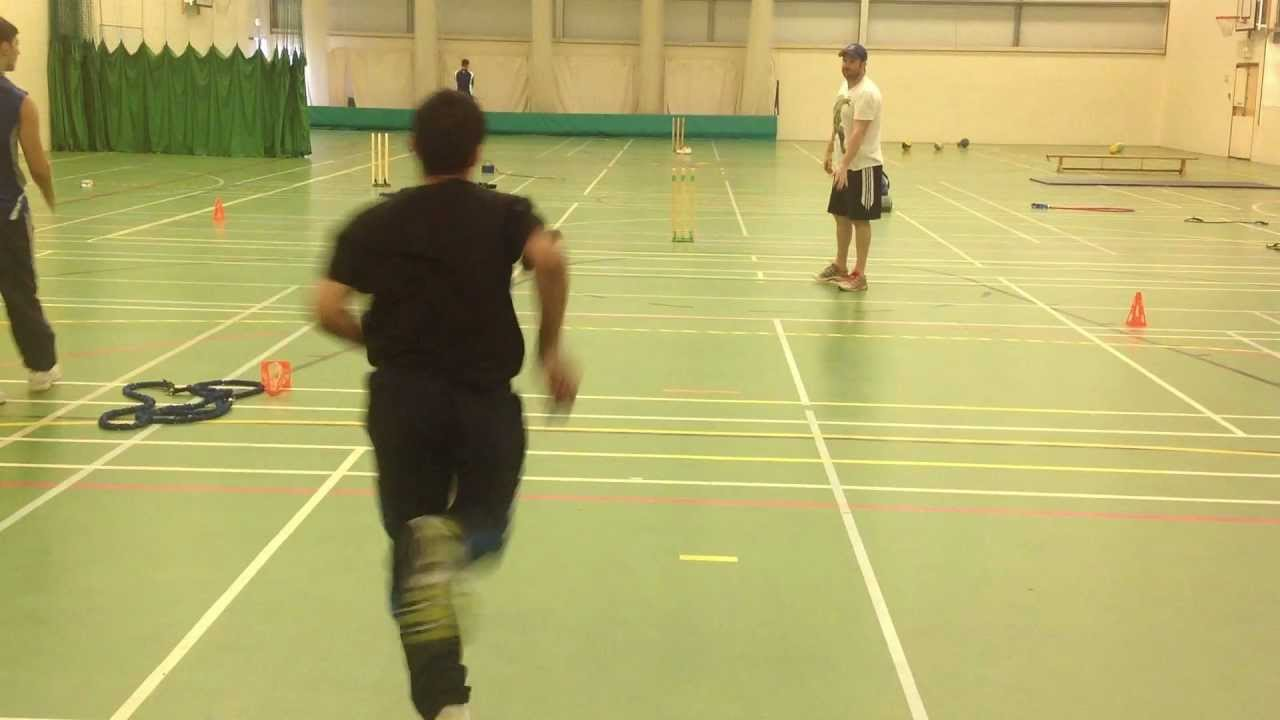 Fast Bowling Action Behind View Slow Motion - YouTube
