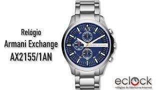 4857cdf4a11 Relógio Armani Exchange Masculino AX2155 1AN - Eclock ...