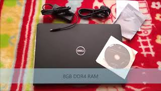 Unboxing of Dell Vostro 14-3468 14-inch Laptop | 7th Gen Core i5/8GB/1TB