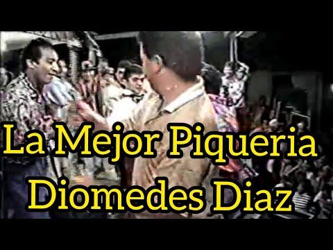 Piqueria - Diomedes Diaz e Ivan Zuleta En Valledupar 1995