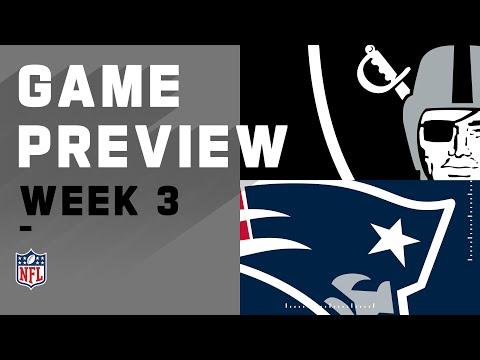 Las Vegas Raiders Vs New England Patriots   Week 3 NFL Game Preview