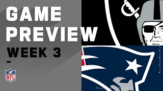 Las Vegas Raiders vs New England Patriots | Week 3 NFL Game Preview