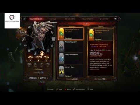 Diablo 3 Bottomless Potion of the Leech