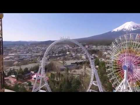 Dodonpa NEW 2017 Time Lapse Fuji-Q Highland