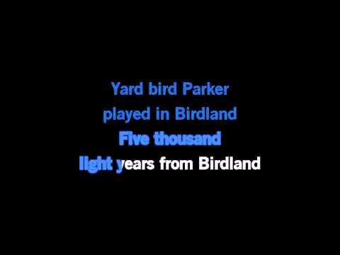 Manhattan Transfer Birdland Karaoke