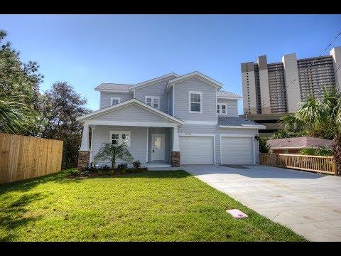 New Construction 1 Block To Gulf - Panama City Beach, Florida Real Estate