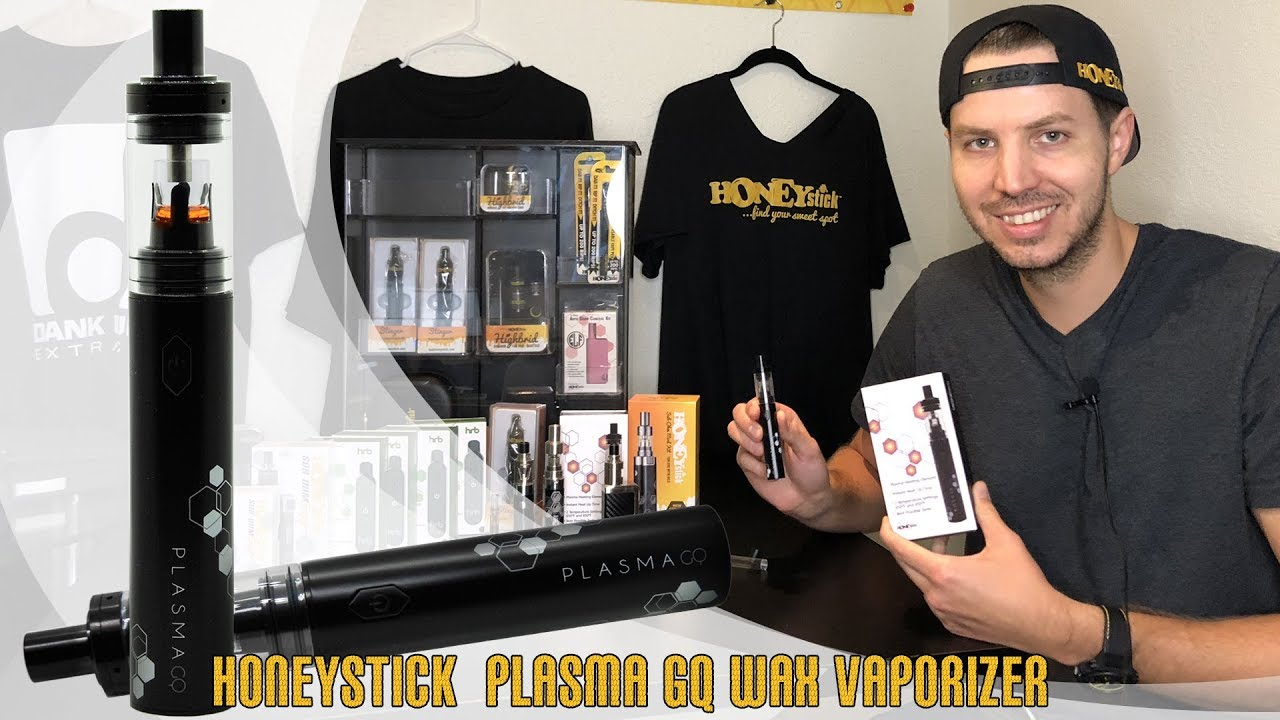HoneyStick Plasma GQ Vape Review: Purest Flavor Wax and Dabs