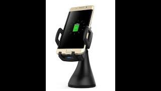 Держатель для телефона с быстрой беспроводной зарядкой в машину для Samsung galaxy s7,s6,note,iphone(, 2016-10-15T16:01:46.000Z)