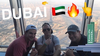 DUBAI WAS LIT!! ?? CITY TOUR VLOG PT 3 ?BURJ KHALIFA WORLD'S TALLEST BUILDING + A NIGHT LIFE CL