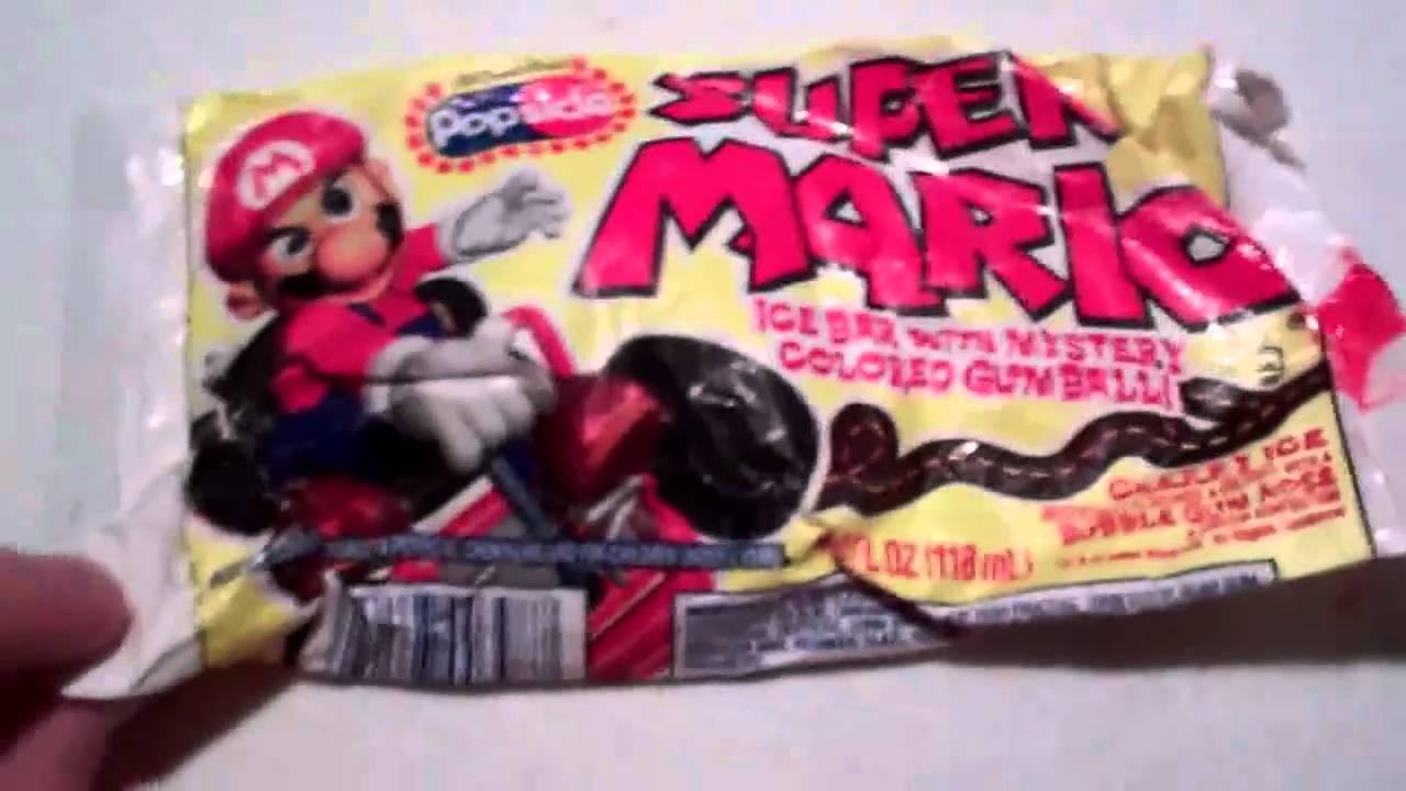 mario ice cream bars