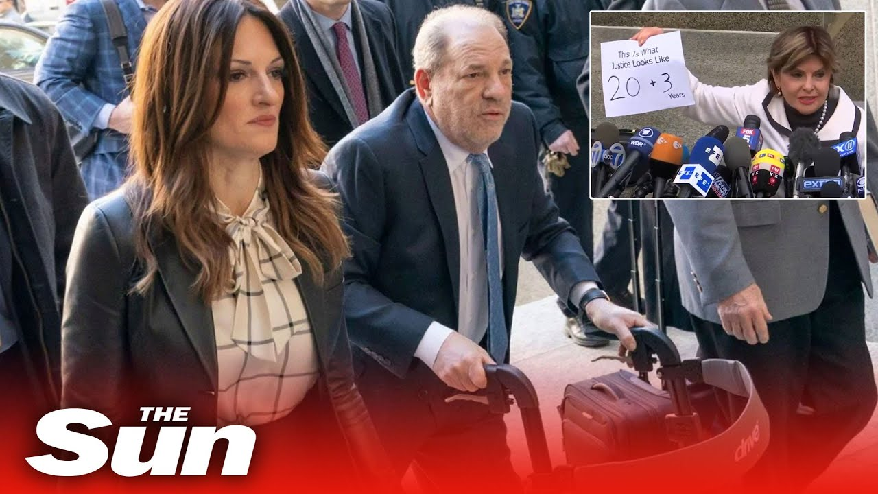 Harvey Weinstein sentenced to 23 years in prison for rape and sexual assault