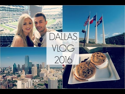 ♡ Dallas Vlog Pt 1 | 2016 ♡