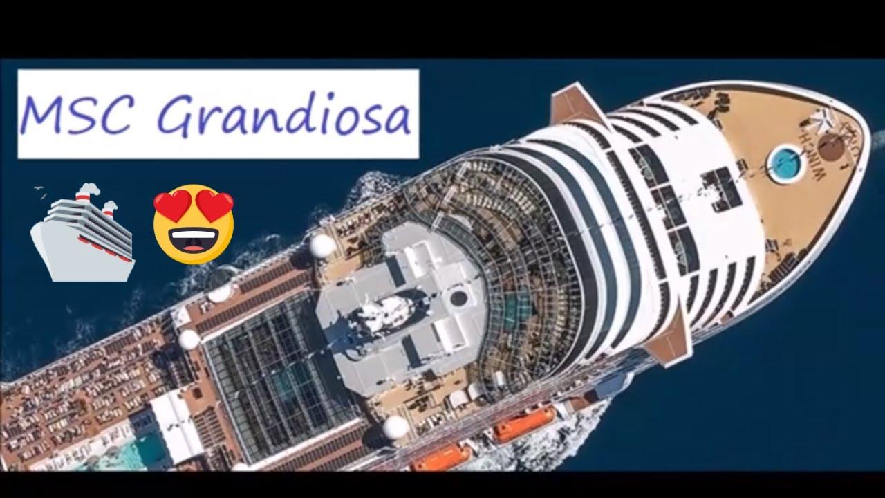 MSC Grandiosa - Rendering in anteprima - YouTube