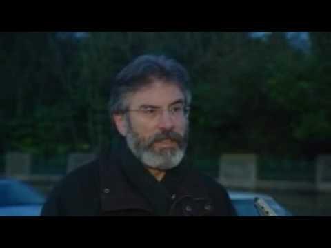 Gerry Adams' immedate response to death of Denis Donaldson
