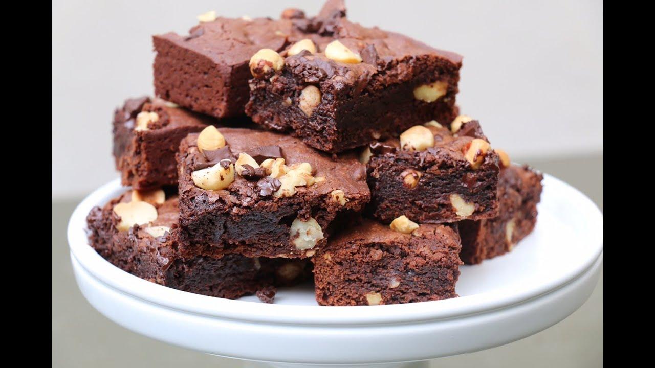 Cake Aux Noix Et Chocolat Moelleux