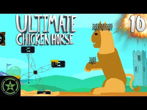 Watch the Panic - Ultimate Chicken Horse | Let's Play