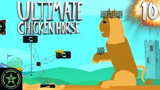 Watch the Panic - Ultimate Chicken Horse | Let