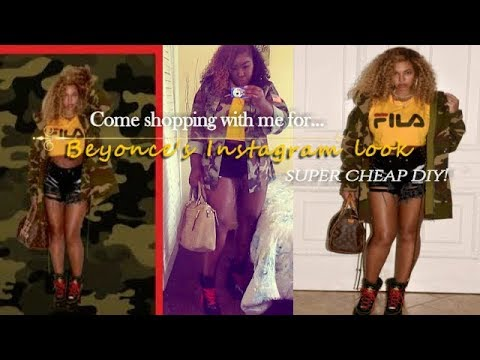 HOW TO DRESS LIKE BEYONCE !?! | SHOPPING AND DIY |