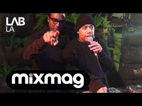 CARL CRAIG & STACY PULLEN (DETROIT LOVE) techno DJ sets The Lab LA