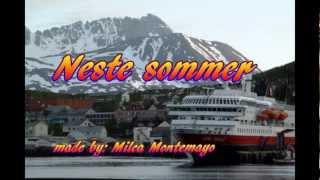 Neste sommer -tekst DeLillos- by: Milca Montemayor