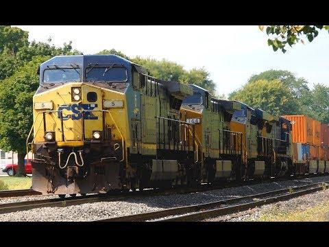 RAILREEL CSX Fostoria Ohio Sept 20 2018