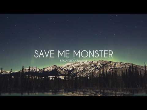 BTS x EXO - Save ME Monster - Piano Remix 피아노