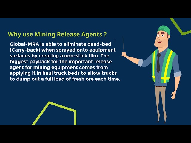 Mining Release Agent | Non Stick Agent for mining | www.miningreleaseagent.com.au