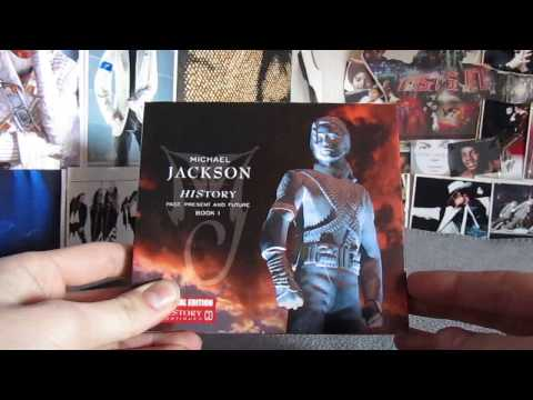 Unboxing Michael Jackson HIStory - Special Italian Edition