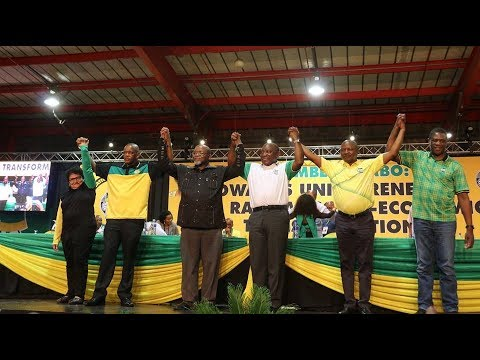 ANC top 6: Ramaphosa emerges victorious