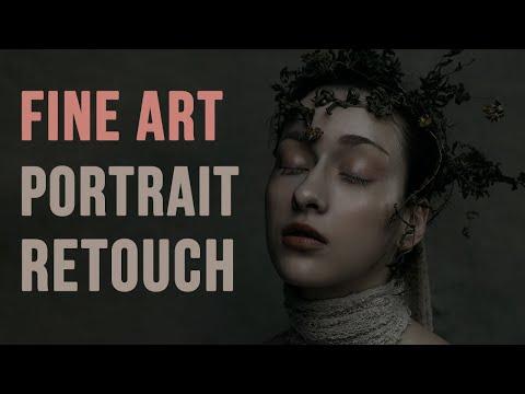 START to FINISH Fine Art Portrait Retouch