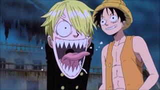 Luffy meets Brook [English Dub]