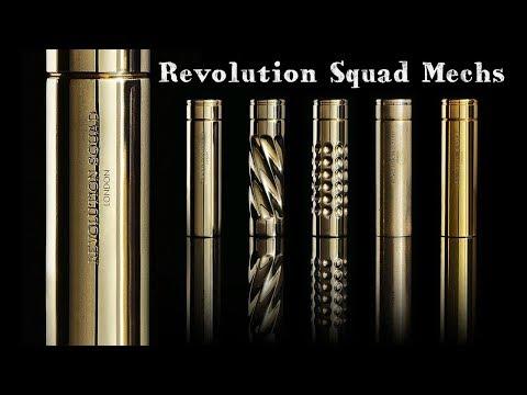 Revolution Squad El Twister & Brit Pop Mech Mods